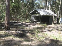 Photo of Scrub Road bush camp.