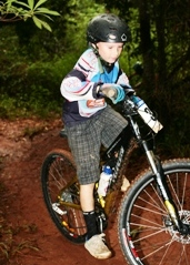 Mountain bike trails are suitable for all levels. Photo: Gordon Greaves.