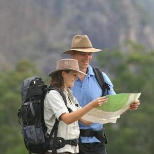 Always carry a copy of the Gold Coast Hinterland Great Walk Topographic Map. Photo: Adam Creed, Queensland Government.