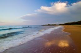 Beach view, Mon Repos Conservation Park.